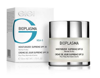 GiGi BIOPLASMA- Moisturiser SUPREME, SPF 20 Normal-Dry Skin