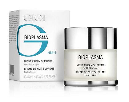 GiGi BIOPLASMA- Night Cream  SUPREME,  All skin types