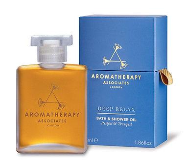 Aromatherapy Associates - Deep Relax Bath & Shower Oil, 55 ml