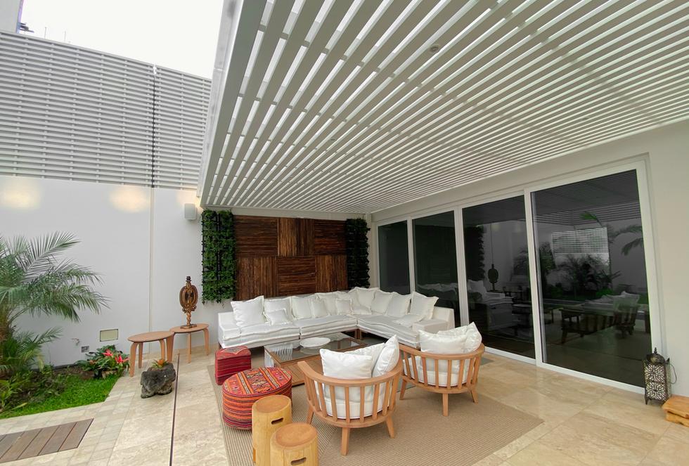 Sol y Sombra Aluminio blanco