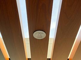 Luminarias cálidas en Sol y Sombra de Aluminio Tacto Madera