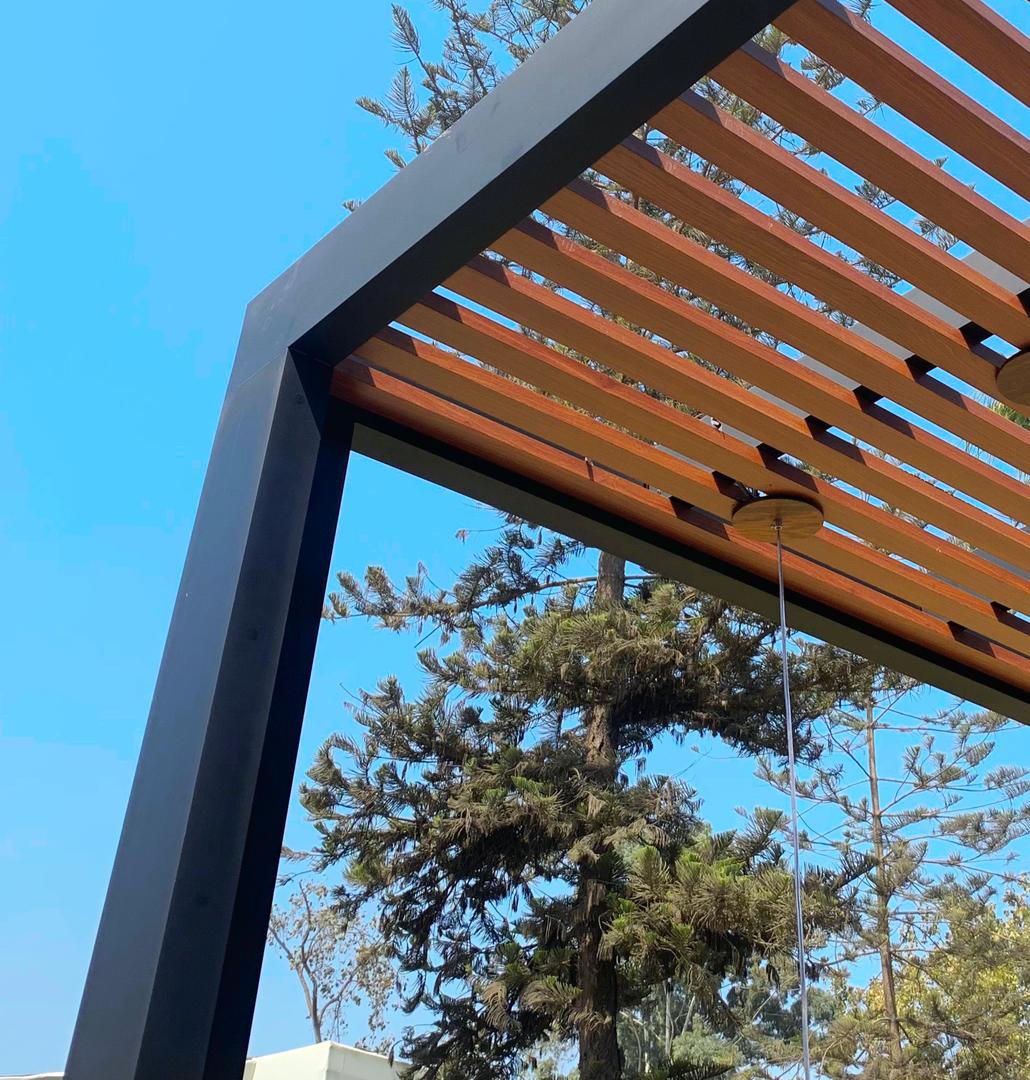 Sol y Sombra de Aluminio Tacto Madera