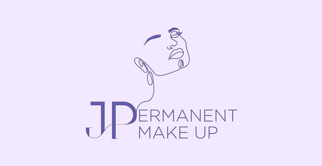 JP Permanent Make Up - Logo Design-1