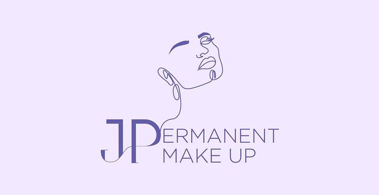 JP Permanent Make Up - Logo Design-1