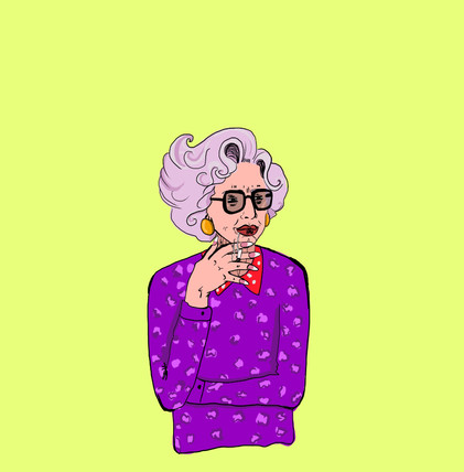 Illustrazione digitale - Zia Yetta