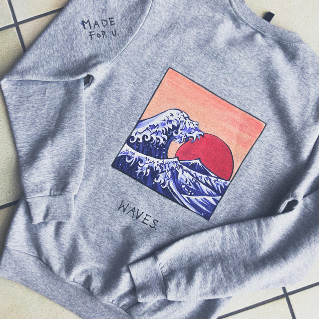 Handpainted sweatshirt