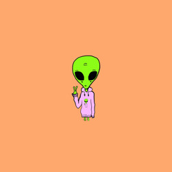 Illustrazione digitale - alien
