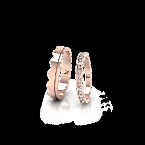 Nhẫn cưới Persephone KJW0275
