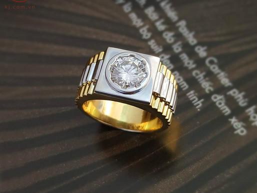 Bốn kiểu nhẫn nam đẹp và lịch lãm cho chàng công sở