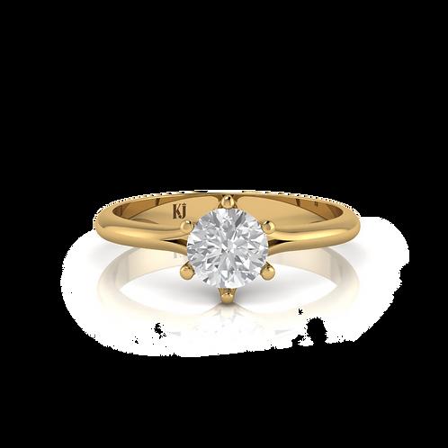 Nhẫn nữ thiết kế KJF0578