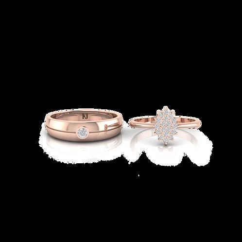 Nhẫn cưới Persephone KJW0273