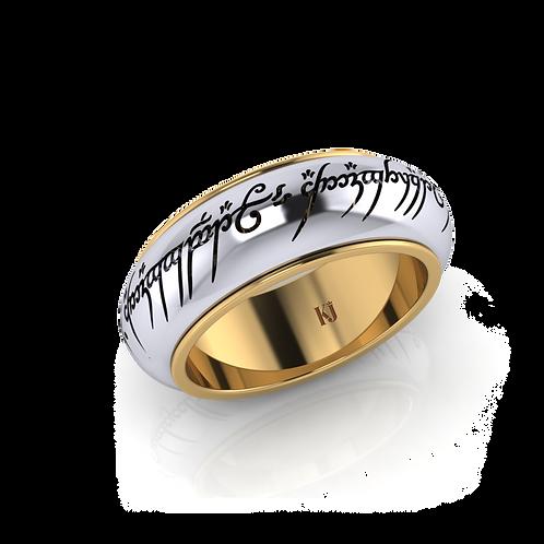 Nhẫn nam chúa tể những chiếc nhẫn, phiên bản xoay KJM0102-M3