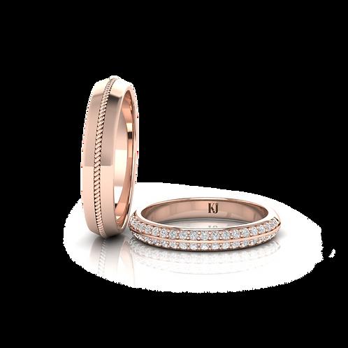Nhẫn cưới Happy Rings KJW0225