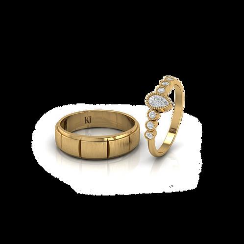 Nhẫn cưới Persephone KJW0237