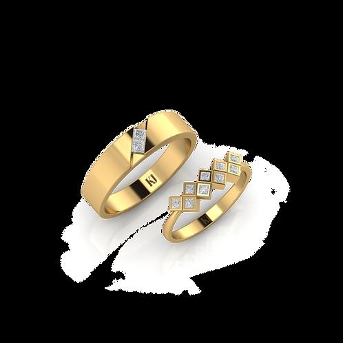 Nhẫn cưới Persephone KJW0269
