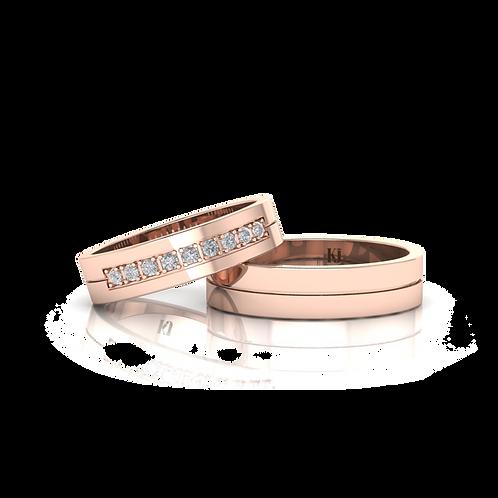 Nhẫn cưới thiết kế KJW0376