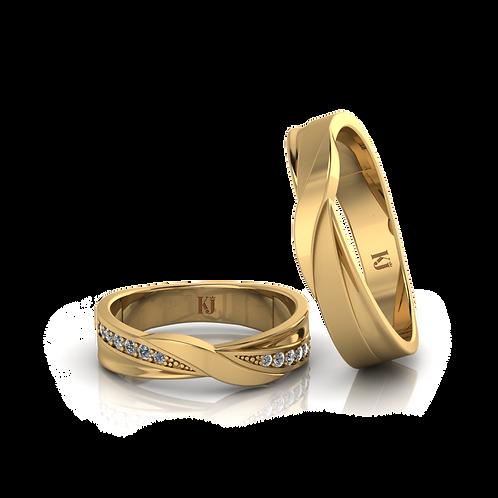 Nhẫn cưới vô cực KJW0175