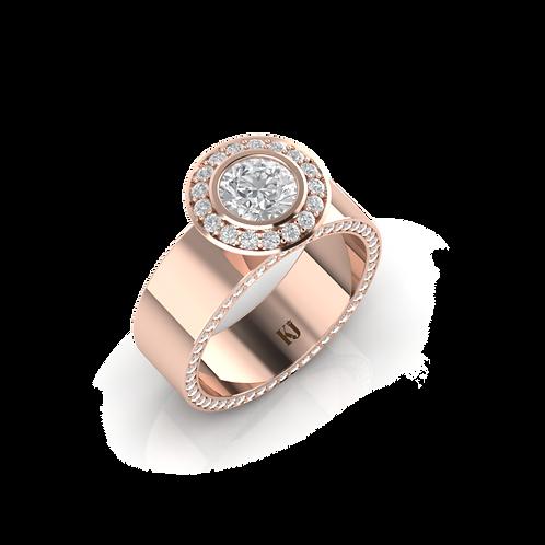 Nhẫn nữ thiết kế KJF0263