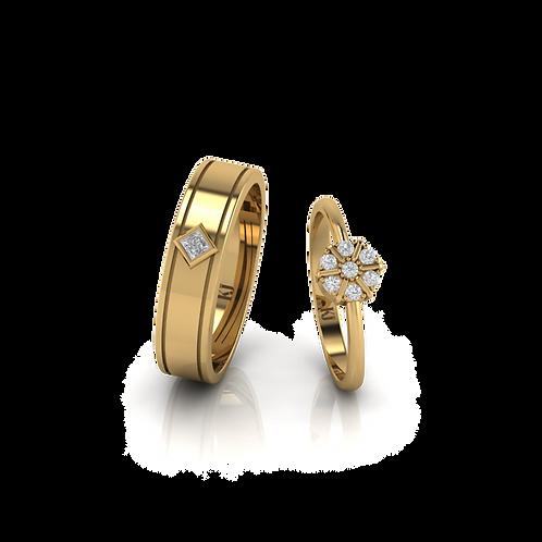 Nhẫn cưới Persephone KJW0238