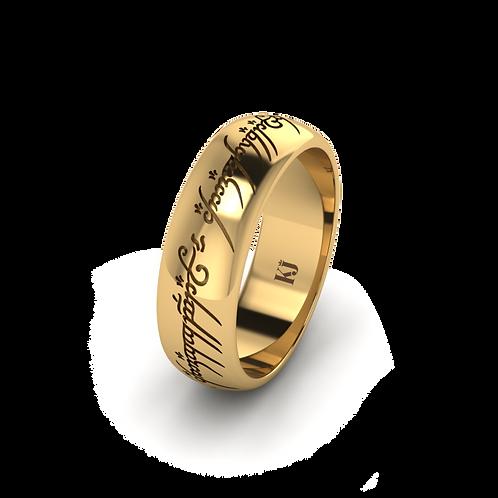 Nhẫn nam chúa tể những chiếc nhẫn KJM0102-M1