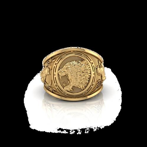 Nhẫn mỹ hổ ngựa mèo KJM0732