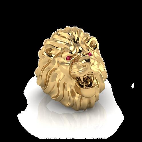 Nhẫn nam đầu sư tử KJM0469