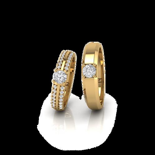 Nhẫn cưới đẹp KJW0304