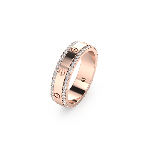 Nhẫn nữ xoay KJF0664