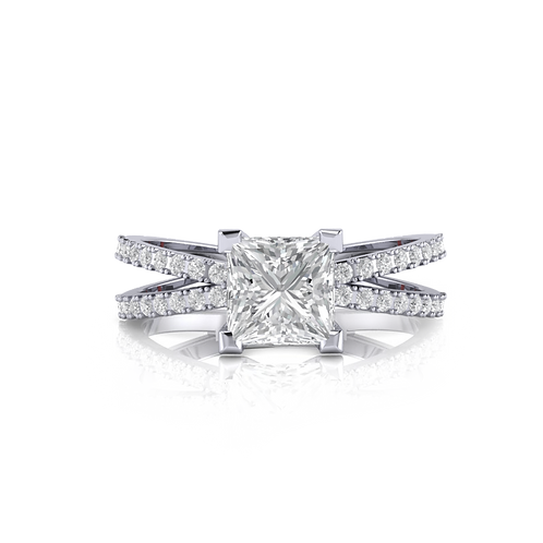 Nhẫn nữ thiết kế KJF0618