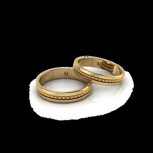 Nhẫn cưới trơn KJW0282
