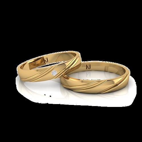 Nhẫn cưới thiết kế  KJW0117