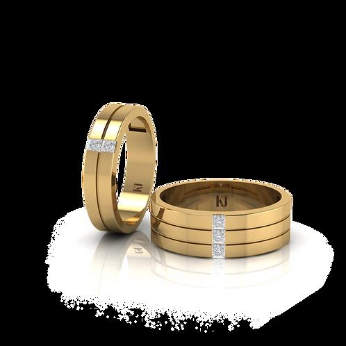 Nhẫn cưới thiết kế KJW0113