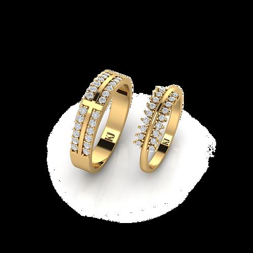 Nhẫn cưới Persephone KJW0236