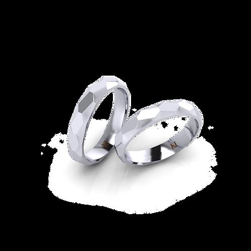 Nhẫn cưới cắt vát KJW0306-RB