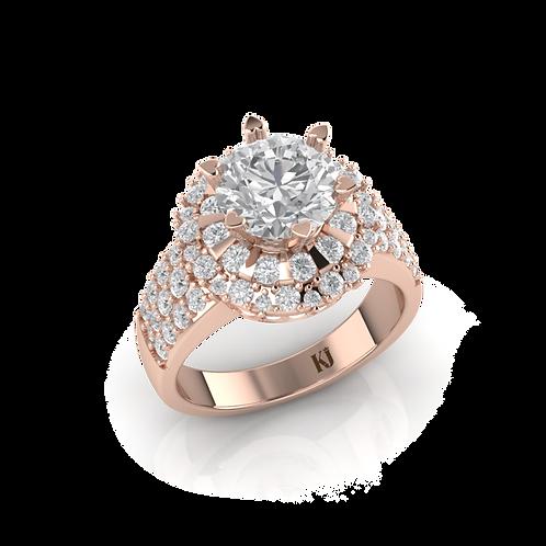 Nhẫn nữ thiết kế KJF0659