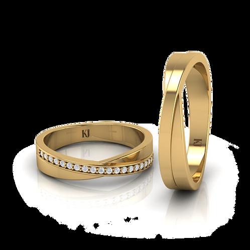 Nhẫn cưới thiết kế KJW0062