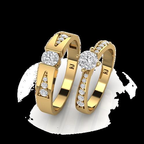 Nhẫn cưới Love Story KJW0338