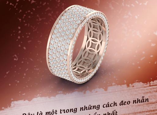Quý ông đeo nhẫn Kim tiền thế nào cho chất?