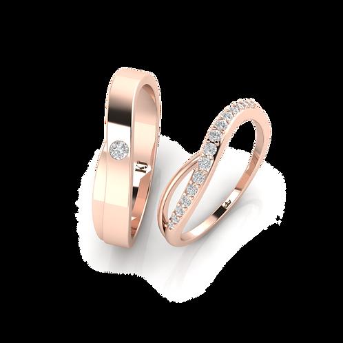 Nhẫn cưới Thiết Kế Mới KJW0232