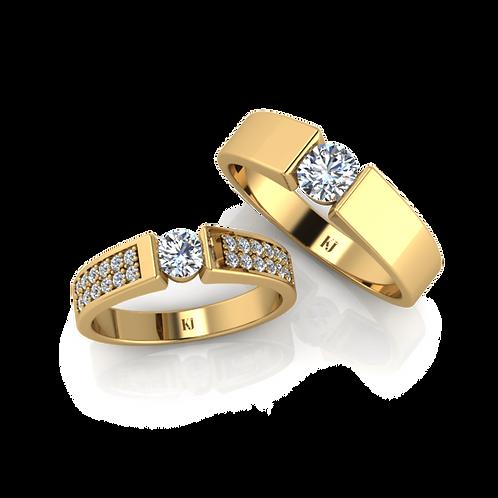 Nhẫn cưới thiết kế KJW0099