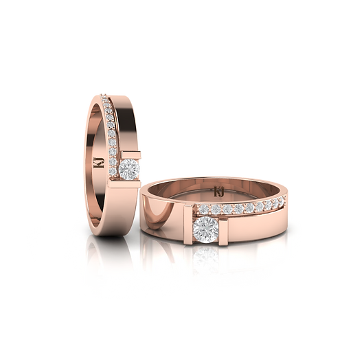 Nhẫn cưới thiết kế KJW0367