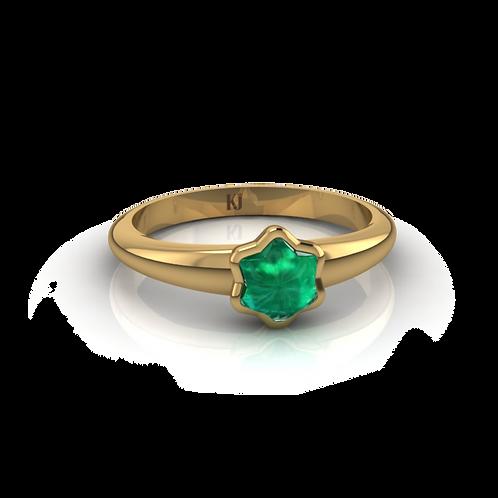 Nhẫn đá sao thiết kế KJF0197