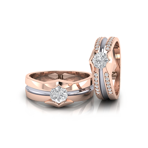 Nhẫn cưới thiết kế KJW0251