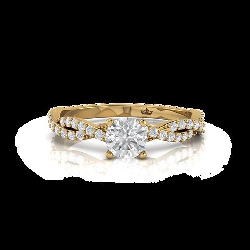 Nhẫn nữ thiết kế KJF0656