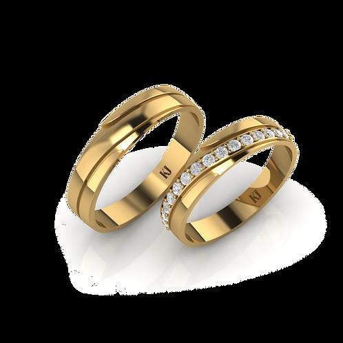 Nhẫn cưới KJW0009