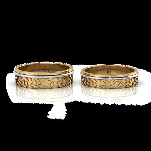 Nhẫn cưới cao cấp KJW0705