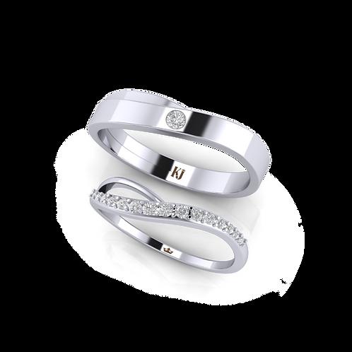 Nhẫn cưới KJW0232