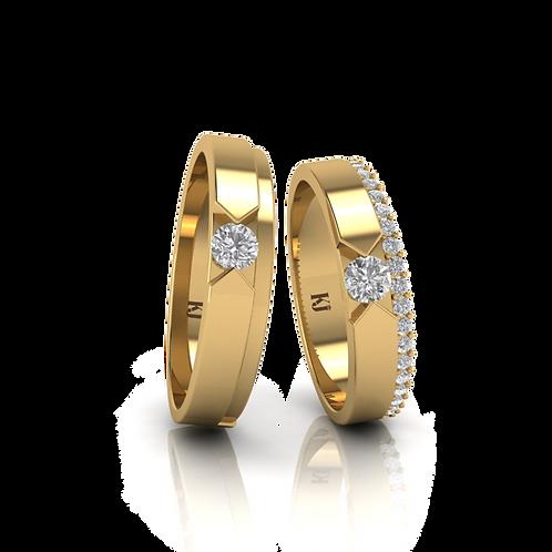 Nhẫn cưới thiết kế KJW0193