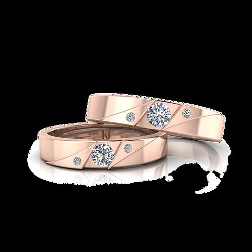 Nhẫn cưới thiết kế KJW0041
