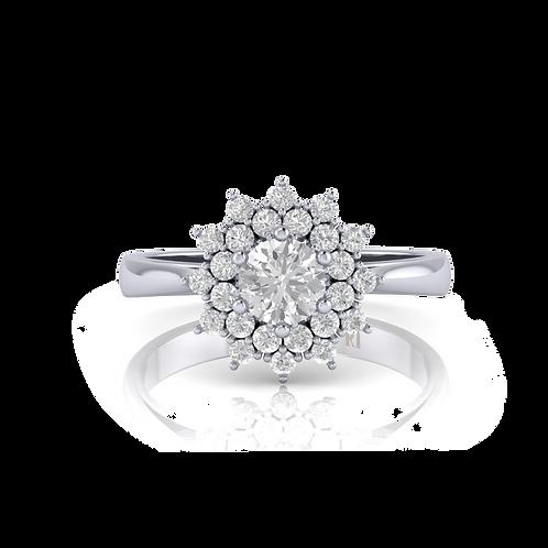 Nhẫn nữ thiết kế KJF0658